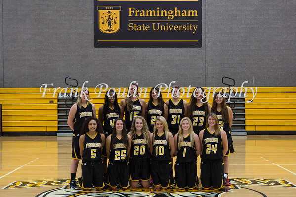 Framingham women's basketball headshots