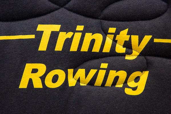 Trinity women's rowing celebration