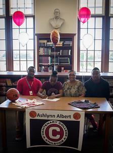 Ashlynn Albert's Signing-8