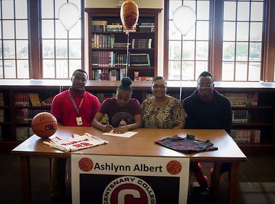 Ashlynn Albert's Signing-7