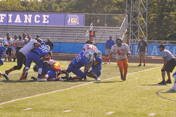 08-12-17 Sports Liberty Center vs Defiance FB scrimmage