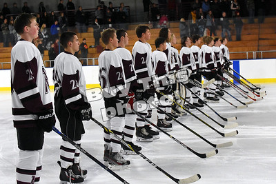 boys hockey vs Park Rapids 12/5/17