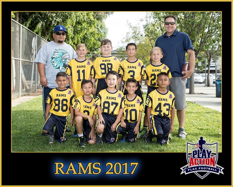 Rams 3 8X10