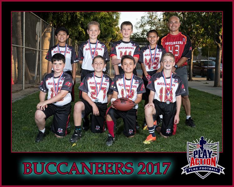 buccaneers 2 8X10