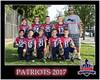 patriots 3 8X10