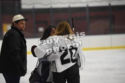 Girls hockey versus morris