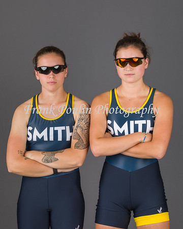 Smith College rowing headshots 2017-2018