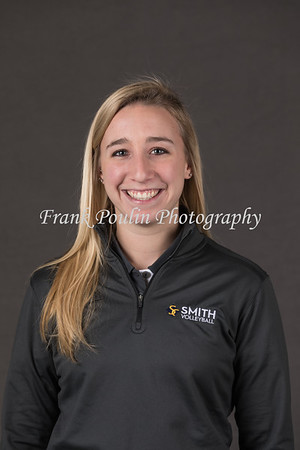 Smith College softball headshots 2018