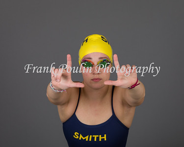 Smith College swimming & diving headshots 2017-2018