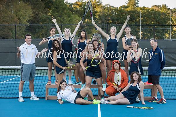 Smith College tennis headshots 2017