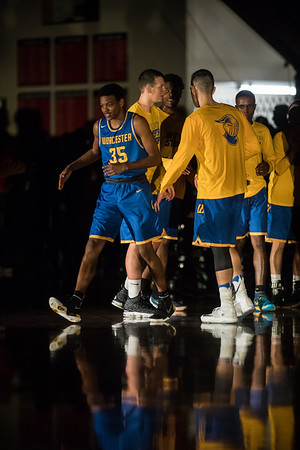 Worcester State men's basketball  11/15/2017