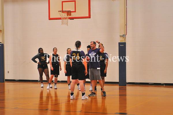 10-15-18 Sports DC women Basketball 1st Practice