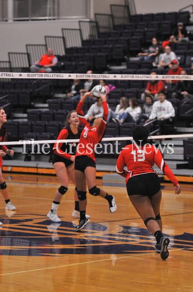 10-23-18 Sports Lima Shawnee vs Wauseon Dist. semi VB @ Bluffton