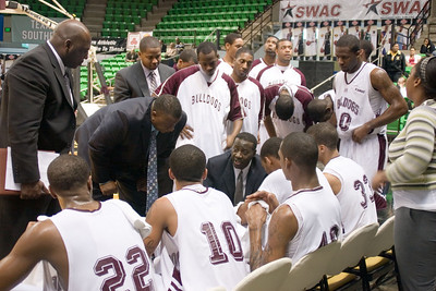 AAMU Basketball Men vs UAPB SWAC Toruney 2008