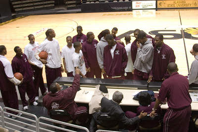 AAMU Men Basketball vs ASU at Montgomery