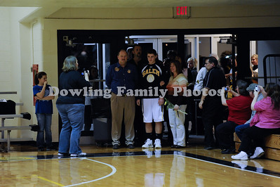 Borden on Senior Night