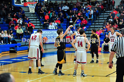 Salem Stops Brownstown in Sectional