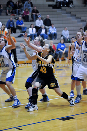 Lady Lions Fall To Cougars