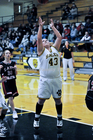 Salem Girls Fall to Brownstown