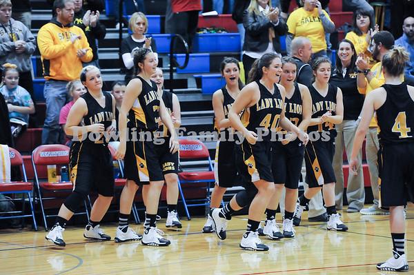 SHS Girls Basketball 2013-2014