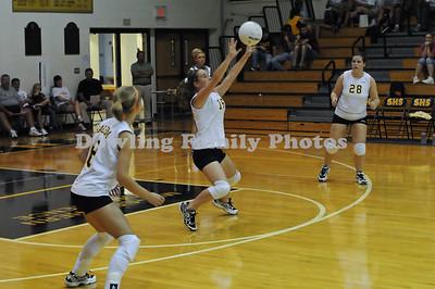 Salem Volleyball vs Southwestern