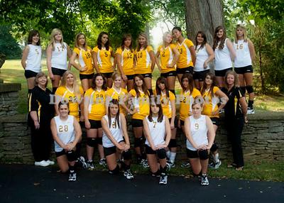 Volleyball Team 2010 Facebook Photos