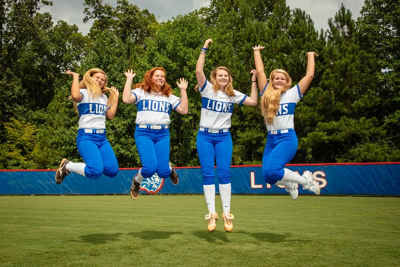 2016 Peachtree Ridge Lions Softball