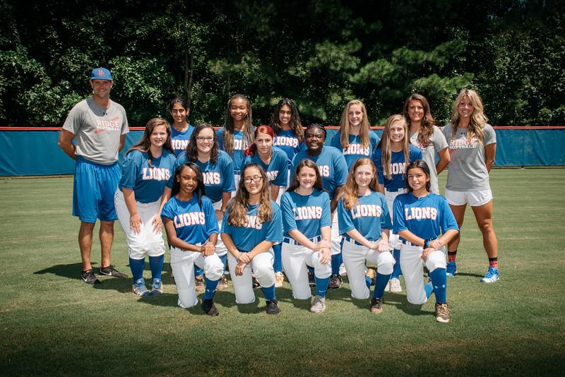 2018 Peachtree Ridge High School Softball