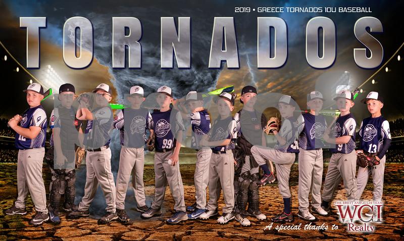 Tornados Poster PRINT