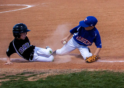 Rangers AA Baseball vs Bats 3/20/14