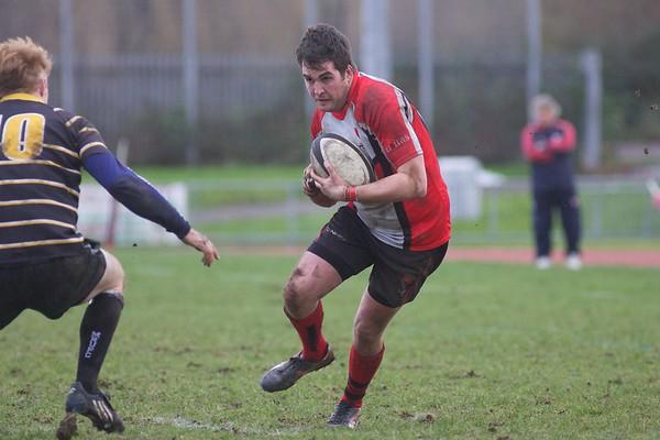 Richard Athey of Cheltenham Rugby V Marlow