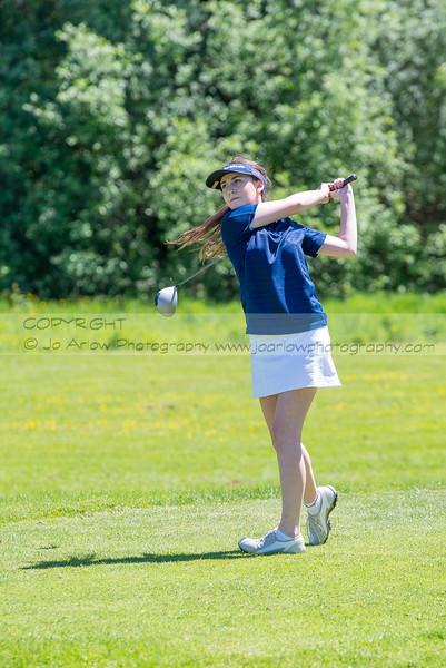 2016 Girls Golf 2A Evergreen Championships