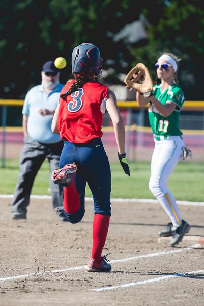 Black Hills v. Tumwater Girls Softball
