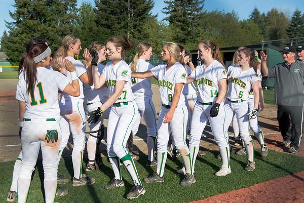 Tumwater HS v. Black Hills HS Girls Softball