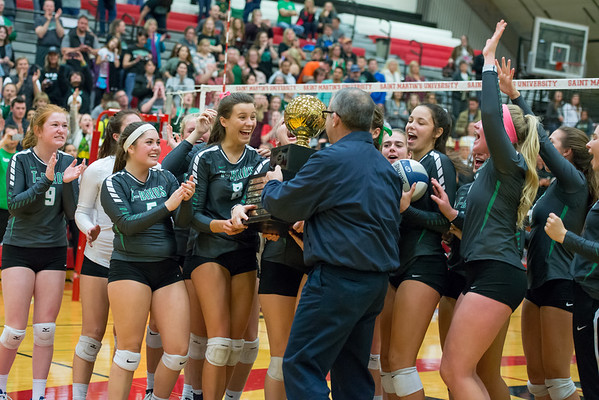Tumwater  vs. Woodland Girls Volleyball 2A Championships 2016