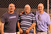Coaches for the 2007 City Leage Champs, heads shaved as promised........