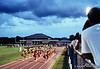 Vidalia High School vs West Laurens. 23 August, 2013.  Camera: Nikon FM.  Film: Kodak Portra 400 at ISO 1600 and pushed 2 stops in Tetenal C-41 chemicals. Lens: 35mm f/1.4 Nikkor-N Auto