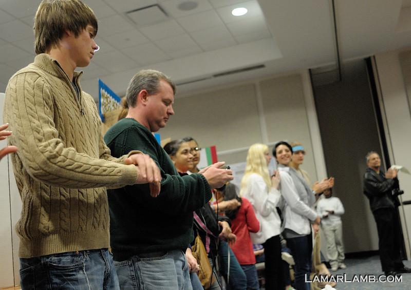 2013 Regional Science Fair in Savannah Georgia. - Vidalia High School contingent; Camera: Nikon D300 with Nikkor 24mm f/2.8 AIs