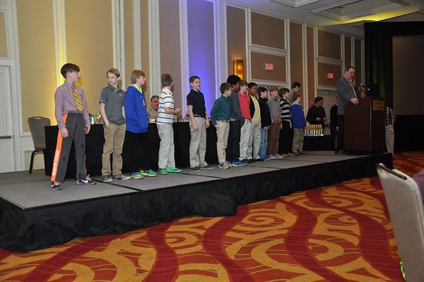 Blessed Sacrament Football Banquet 2014 season