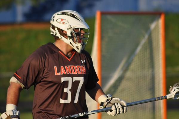 Landon (MD) at Churchill (MD) boys varsity lacrosse 04.28.15