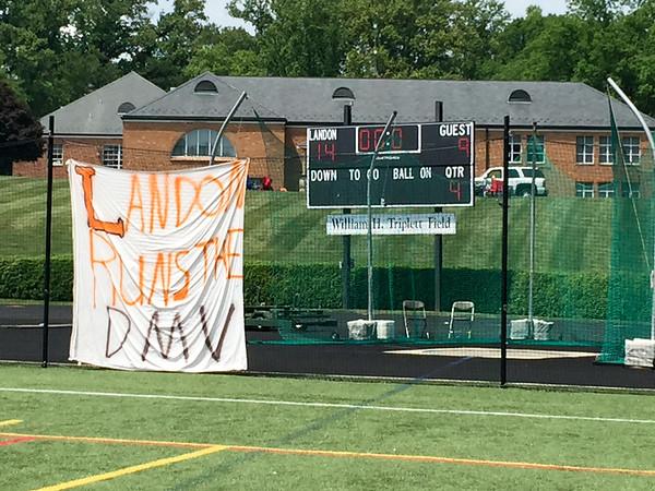Landon (MD) vs. Georgetown Prep (MD) boys varsity lacrosse 05.16.15