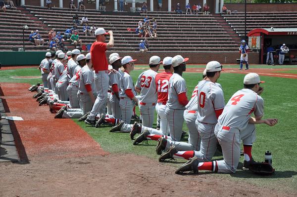 St. Johns (DC) vs. DeMatha (MD) boys varsity baseball 05.09.15