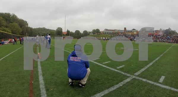 St. Johns (DC) v. DeMatha (MD) boys varsity football 10.03.15