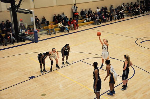 Holy Child (MD) vs. Goretti (MD) varsity basketball 01.31.15