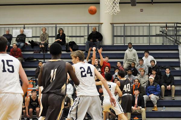 Landon (MD) at Georgetown Prep (MD) varsity basketball 02.19.15