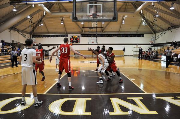 Landon (MD) vs. St. Stephens St. Agnes (VA) varsity basketball 02.06.15