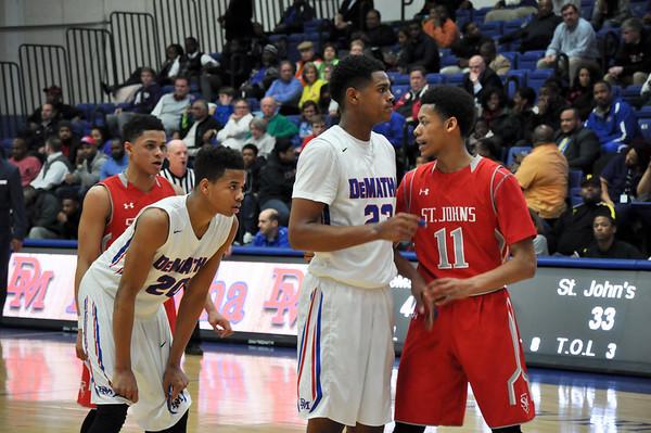 St. Johns (DC) vs. DeMatha (MD) varsity basketball 02.23.15