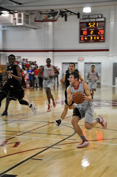 St. Johns (DC) vs Paul VI (VA) varsity basketball 02.01.15