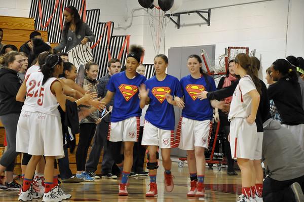 St. Johns (DC) vs. Visitation (DC) girls varsity basketball 02.14.15