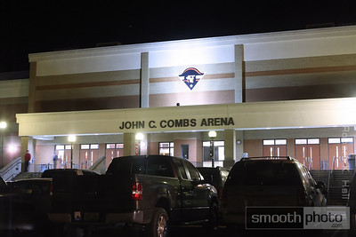 The John C. Combs Arena at Perry County Central High School, Hazard, Kentucky